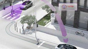 Comunicazione Volkswagen tra veicoli